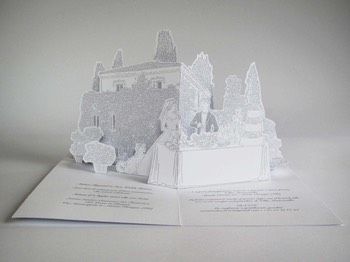 wedding pop-up card 2