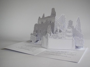 wedding pop-up card 4