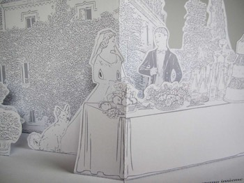 wedding pop-up card 5
